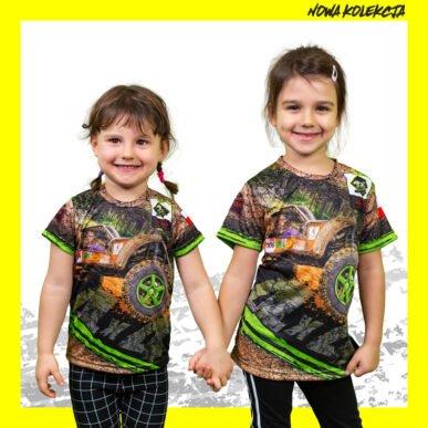 Koszulka dziecięca Na Tropie Szakala BBDW