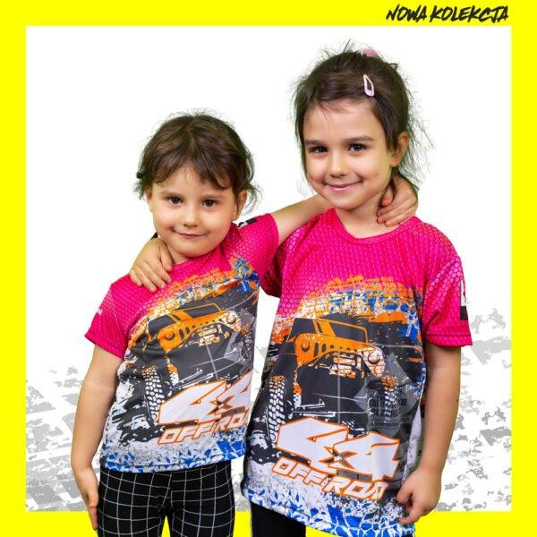 Koszulka dziecięca pink BBDW